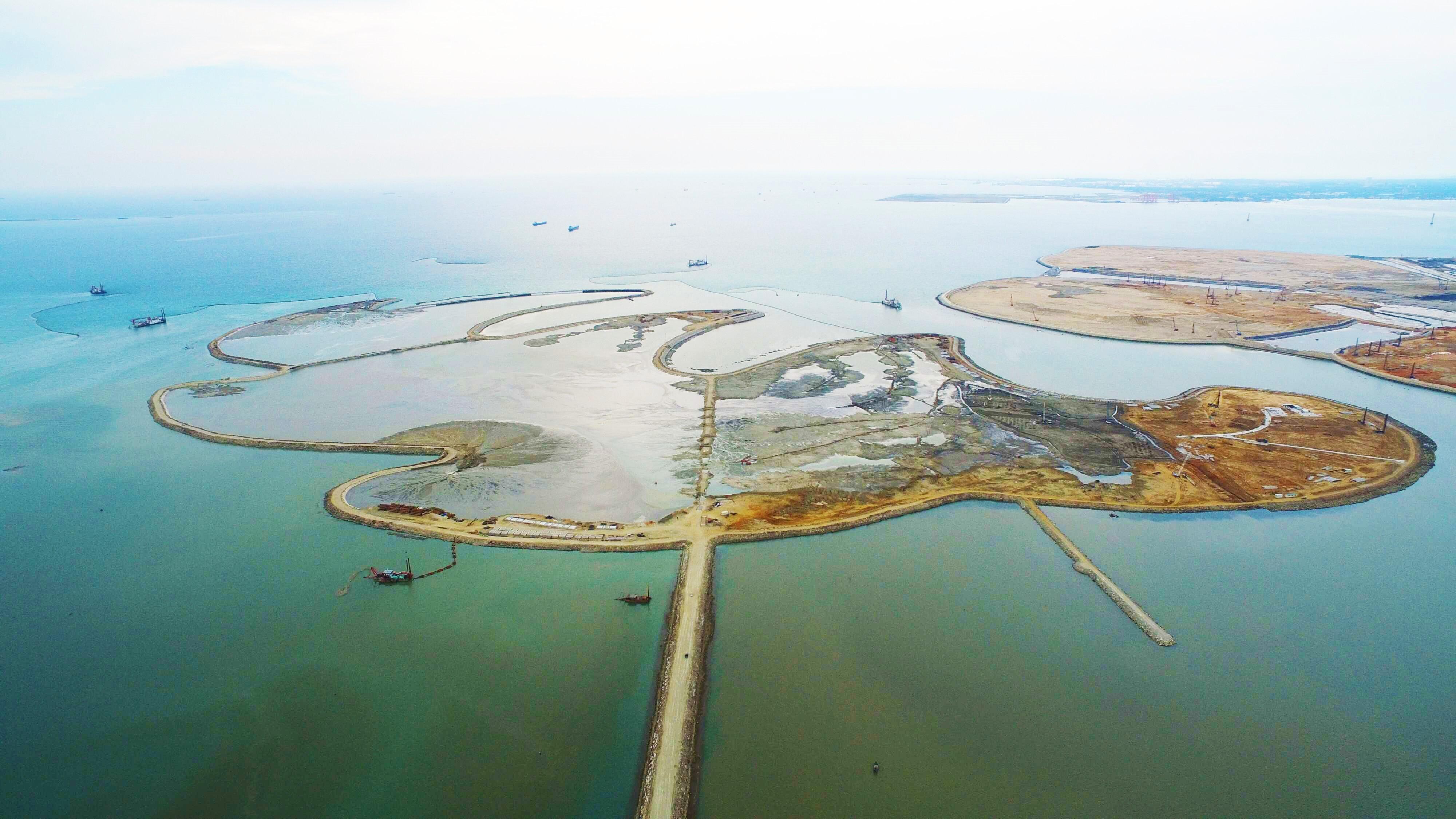 海南海花岛填海造地项目